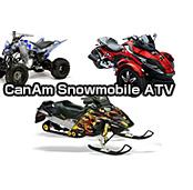 CanAm、Snowmobile、ATVについては特別注文として個別に対応致します。お問い合わせください。