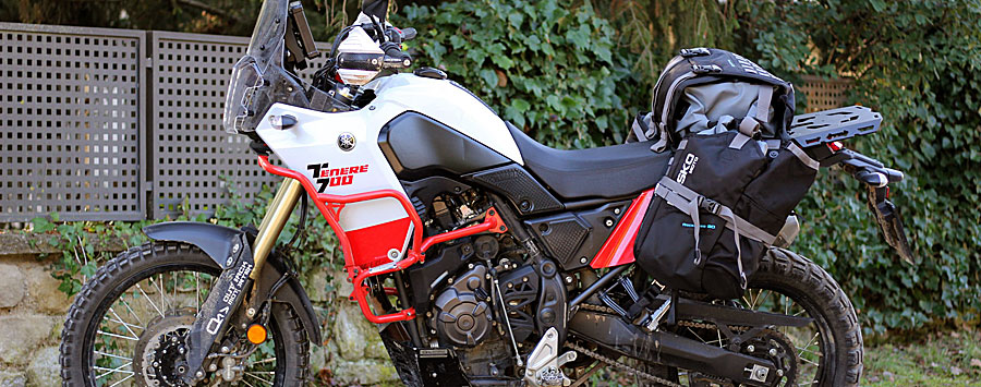 OUTBACKmotortek Yamaha用ガード