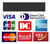 コレクト(代引き)銀行振込クレジットがご利用可能です